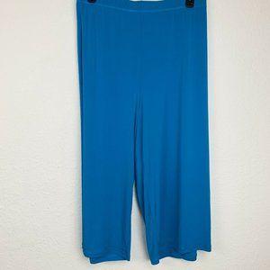 EAST 5TH Stretch Blue Elastic Waist Crop